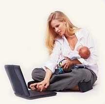Работа для мамы в декрете